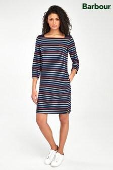 Barbour® Coastal Navy Stripe Seaview Cotton Dress