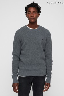 AllSaints Grey Wells Jumper