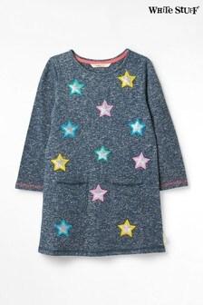 White Stuff Kids Stars Galore Jersey Dress