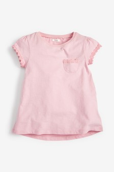 Daisy Trim T-Shirt (3-16yrs)