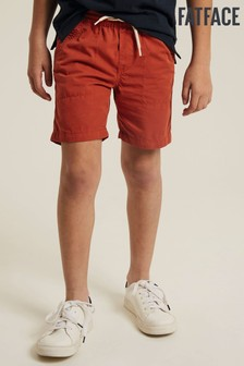 FatFace Brown Studland Elasticated Shorts