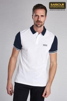 Barbour® International White Volt Polo