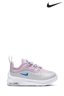 Nike White/Pink Air Max Axis Infant Trainers