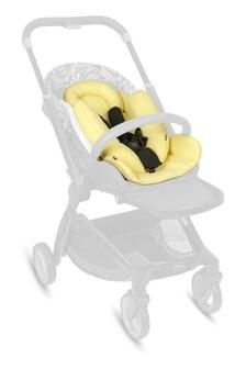Versace Kids Beige Cotton Stroller Accessory