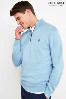 Polo Ralph Lauren Golf Zip Neck Jumper