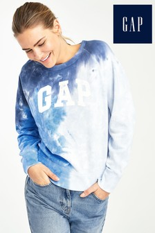 Gap Blue Tie Dye Jumper