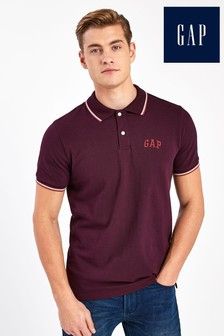 Gap Tipped Collar Poloshirt