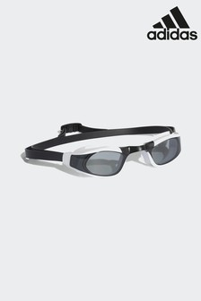 adidas White/Black Persistar Race Swim Goggles