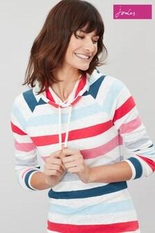 Joules Cream Marlston Hooded Sweatshirt