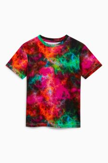 Digital Print Tie Dye T-Shirt (3-16yrs)