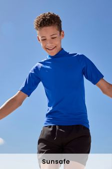 Short Sleeve Sunsafe Rash Vest (1.5-16yrs)