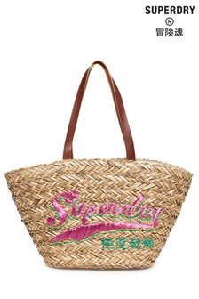 Superdry Anya Straw Tote Bag