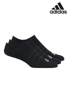 adidas Kids Black Trainer Socks Three Pack