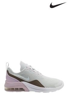 Nike Grey/Pink Air Max Motion Youth Trainers