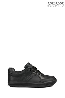 Geox Boys Arzach Black Shoe