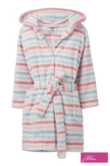 Joules Pink Cosy Novelty Dressing Gown