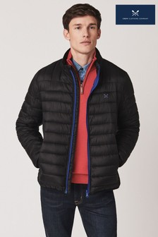 Crew Clothing Company Black Lightweight Lowther Jacket