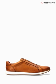 Base London® Tan Flare Lace Up Trainer