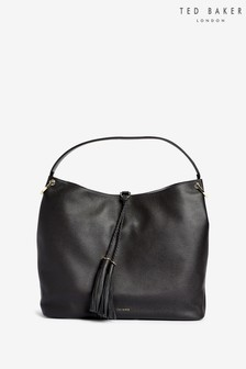 Ted Baker Black Demi Tassel Hobo Bag