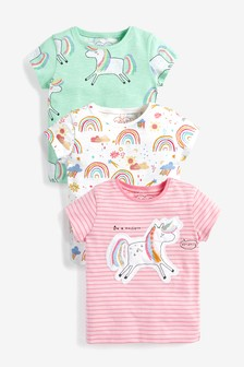 3 Pack T-Shirts (3mths-8yrs)