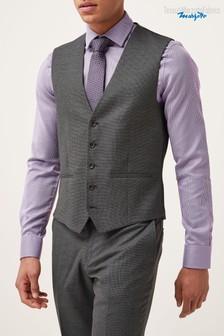 Marzotto Texture Suit: Waistcoat