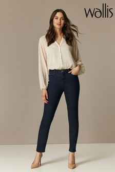 Wallis Indigo Heather Slim Leg Jeans