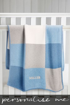 Personalised Knitted Blanket