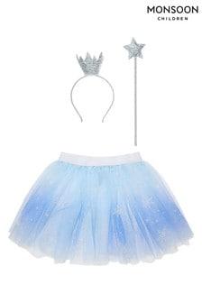 Monsoon Children Blue Frosted Wonderland Dress Up Set
