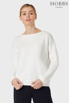 Hobbs White Jerrie Sweater