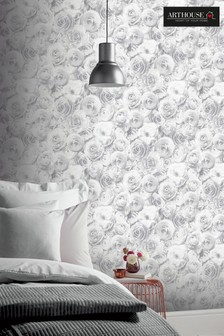 Arthouse Wild Rose Floral Wallpaper