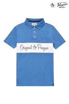 Original Penguin Panel Polo Shirt