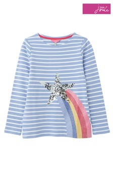 Joules Blue Harbour Luxe Jersey Top