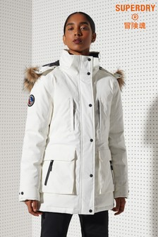 Superdry Sport Everest Down Snow Parka Coat