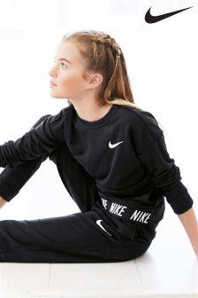 Nike Black Dry Studio Crew