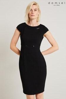 Damsel In A Dress Black Margot City Suit Dress