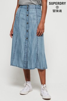 Superdry Layla Midi Skirt