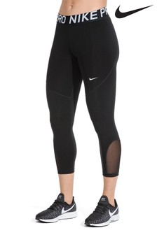 Nike Pro Black Cropped Leggings