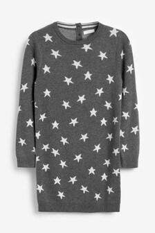Star Print Dress (3mths-10yrs)