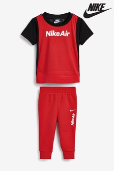 Nike Infant Air T-Shirt And Jogger Set