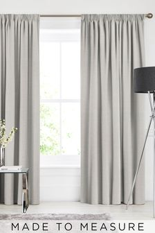 Soho Oyster Natural Made To Measure Curtains