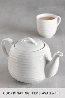 Malvern Embossed Tea Pot