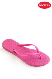 Havaianas® Shocking Pink Kids Slim Flip Flop
