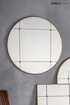 Ariel Round Mirror by Gallery Direct