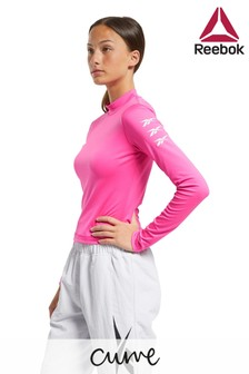 Reebok Curve Workout Ready Long Sleeved Top