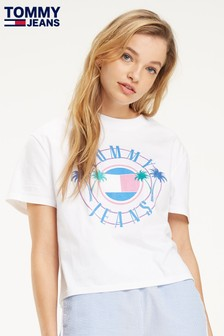 Tommy Jeans Summer Circle Logo T-Shirt