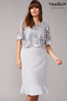Studio 8 Mineral Perla Lace Dress