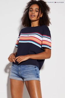 Tommy Hilfiger Stripe Colourblock T-Shirt