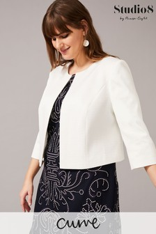Studio 8 Cream Julia Textured Jacket