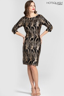 HotSquash Knee Length Sequin Dress