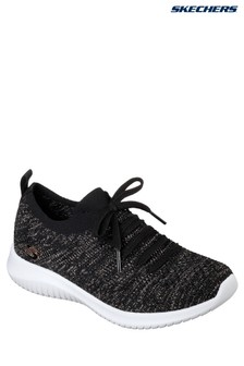 Skechers® Black Ultra Flex Salutations